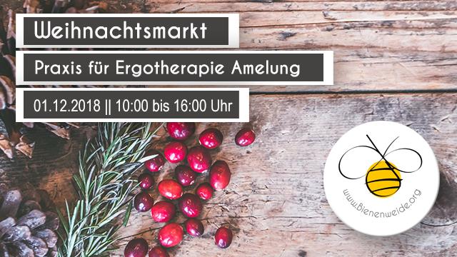 Weihnachtsmarkt Praxis für Ergotherapie und Reittherapie Sandra Amelung