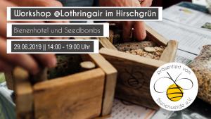 Basteln beim Lothringair @ Hirschgrün | Aachen | Nordrhein-Westfalen | Deutschland